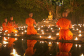Magha Puja Day — Stock Photo