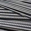 Steel rod in construction site — Stock Photo