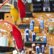 Verification testing of electronic boards — Stock Photo