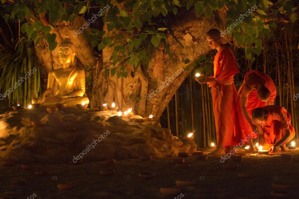 Visakha Bucha Day Thailand Chiang Mai Thailand May 24 Visakha Bucha Day is The Most Important