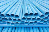 PVC pipes — Stockfoto