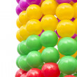 Color balls isolated on white — Stock Photo