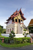 The scripture library of Wat Phra Sing, Chiang Mai, Thailand — Stock Photo