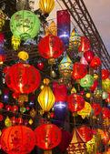Asian lanterns in lantern festival — Stock Photo