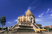 Chedi luang temple in chiangmai Thailand. — ストック写真