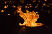 炎は宗教儀式. — ストック写真