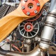 Paramotor engine — Stock Photo #40007789