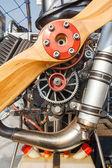 Paramotor engine — Stock Photo