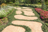 Garden paths — Stock Photo