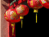 Lanterns in chinese new year day — Stok fotoğraf