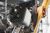 Paramotor or para gliding engine — Stock Photo