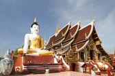 Wat Montien , Chiangmai Thailand — Stock Photo