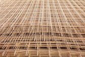 A pile of welded wire mesh — Stock Photo