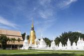 Saundok temple in Chiangmai, Thailand — Foto de Stock