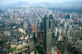Widok dzielnicy luohu shenzhen miasta chin — Zdjęcie stockowe