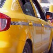 Taxi yellow cab — Stock Photo