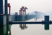 Three Gorges Dam in China — Stock Photo
