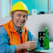 Worker on a break have rest — Stock Photo