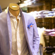 Fashionable mens suit on mannequin — Stock Photo #50964215