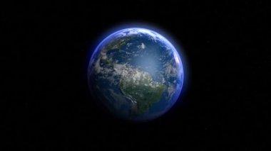 земля для сопоставления — Стоковое видео