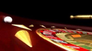 Roulette Wheel — Stock Video
