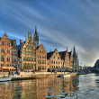 Historical center of Gent, Belgium — Stock Photo