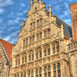 Beautiful medieval building in historical center of Gent, Belgium — Foto Stock #12184807
