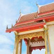 Entry of buddhist temple in Thailand island Phuket — Stock Photo #12284882