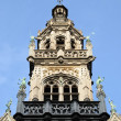 Stock Photo: Neogothic architecture on Grand Place in Brussels, Belgium