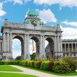 Stock Photo: Cinquantennaire Park in Brussels