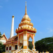 Buddhist temple in Thailand island Phuket — Stock Photo