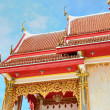 Royalty-Free Stock Photo: Decorated roof of buddhist temple in Phuket island in Thailand