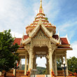 Stock Photo: Buddhist temple in Thailand Phuket island