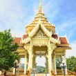 Exterior of buddhist temple in Thailand island Phuket — Stock Photo #12287087