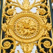 Gates decoration in Tuileries Gardens in Paris, France — Stock Photo