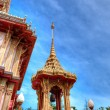 Buddhist temple Wat Chalong in Phuket, Thailand — Stock Photo
