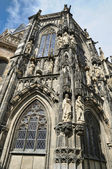 Details of architecture of cathedral in Aachen, Germany — Stock Photo