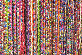 Colorful artisan bijoux — Stock Photo