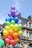 Gay Pride parade on May 15, 2010 in Brussels, Belgium — Stock Photo