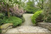 Botanique - publiczny ogród w centrum brukseli, w belgii — Zdjęcie stockowe