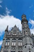 Central Square in Brugge — Stock Photo