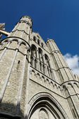 Old cathedral of Brugge, Belgium — Stock Photo