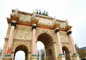 Arc de Triomphe du Carrousel in Paris — Stock Photo