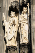 Details of architecture of cathedral in Koeln — Stock Photo