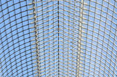 Blue glass roof — Stock Photo