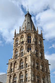Traditional architecture of Cologne, Germany — Stock Photo