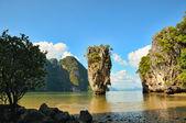 詹姆斯 · 邦德岛在泰国普吉岛附近 — 图库照片