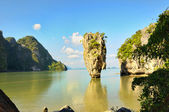 James Bond Island in Thailand near Phuket island — Stock Photo