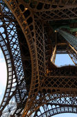 Details of eiffel tower, Paris, France — Stock Photo