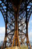 Details of eiffel tower — Stock Photo